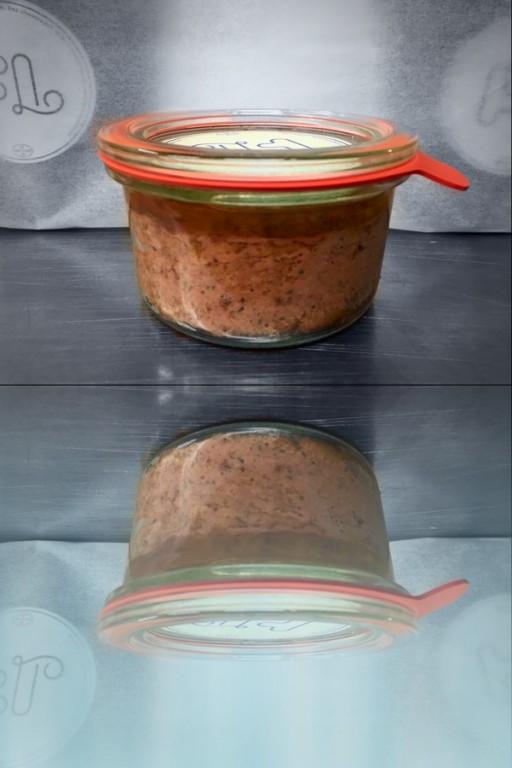 Kuřecí masová paštika - chlazená/sklenička