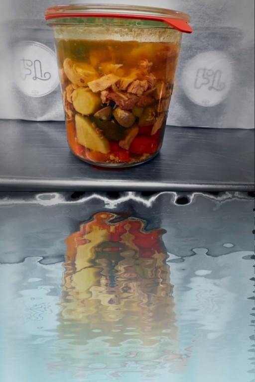 Kuřecí polévka - chlazená/sklenička